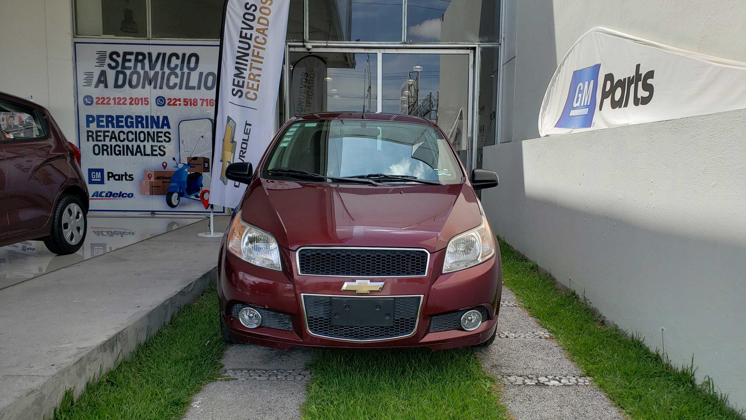 AUTO SEMINUEVO EN VENTA Chevrolet Aveo LTZ 2016 4 Puertas 2016 Mt