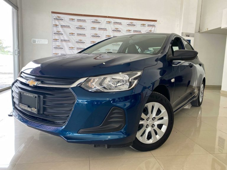 Chevrolet Onix Paq C Color Azul Pacifico 2021 Mt