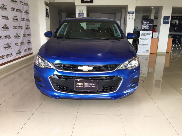 Chevrolet Cavalier Paq A Color Azul Electrico 2019 Mt