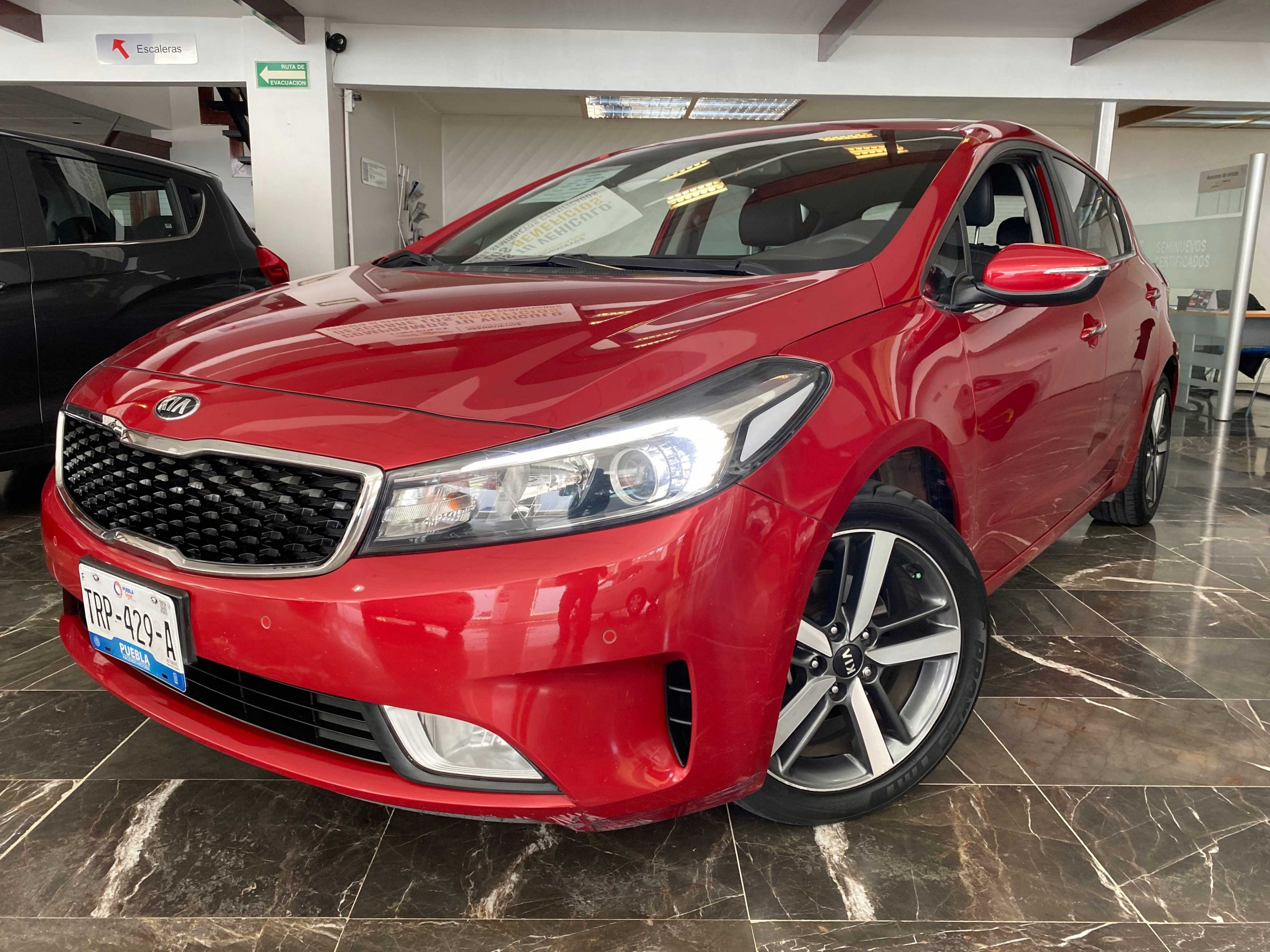 Kia Forte Hatchback SX Color Fiery Red 2018 At