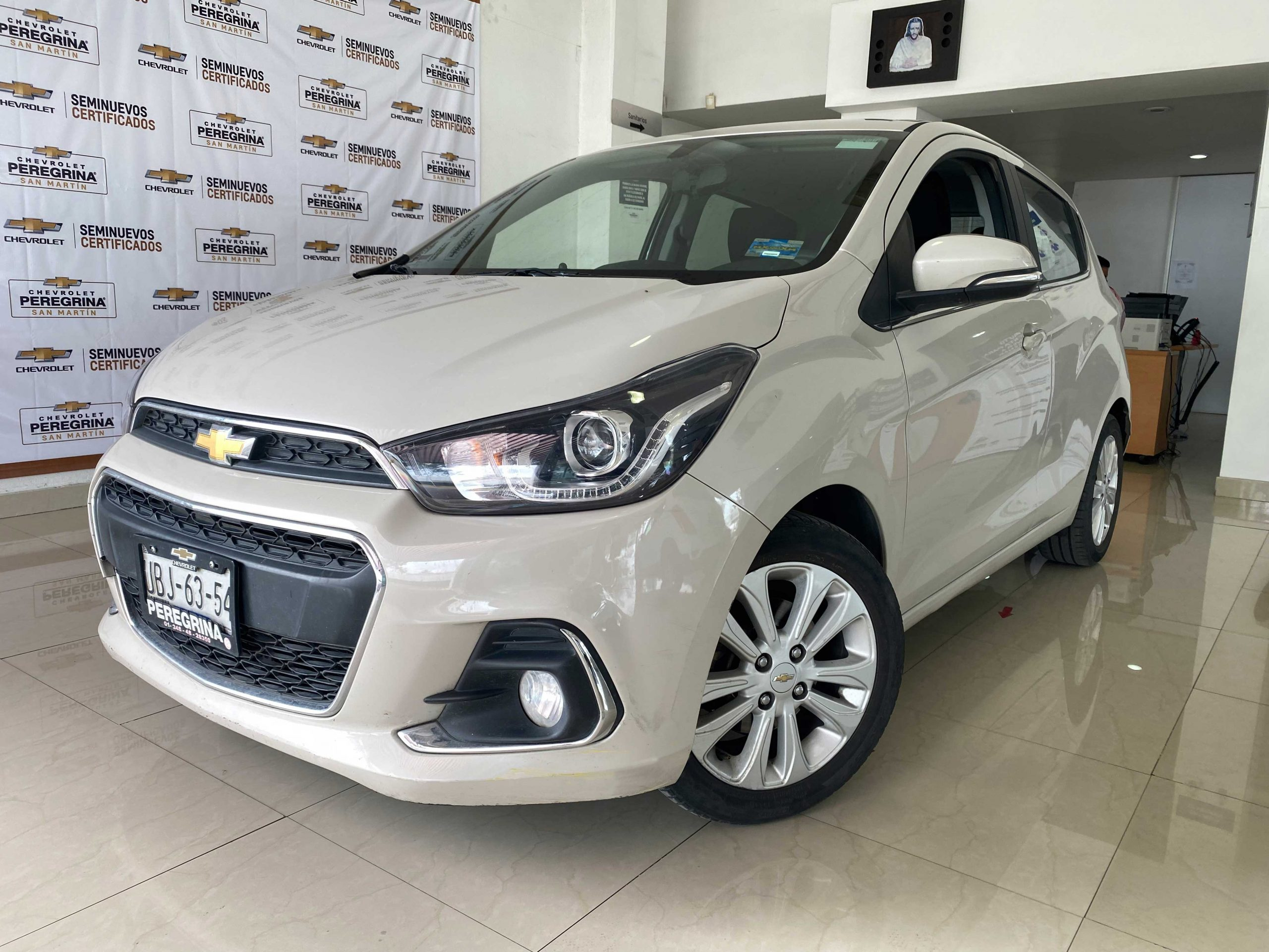 Chevrolet Spark NG Pac G Color Beige Pearl 2018 At