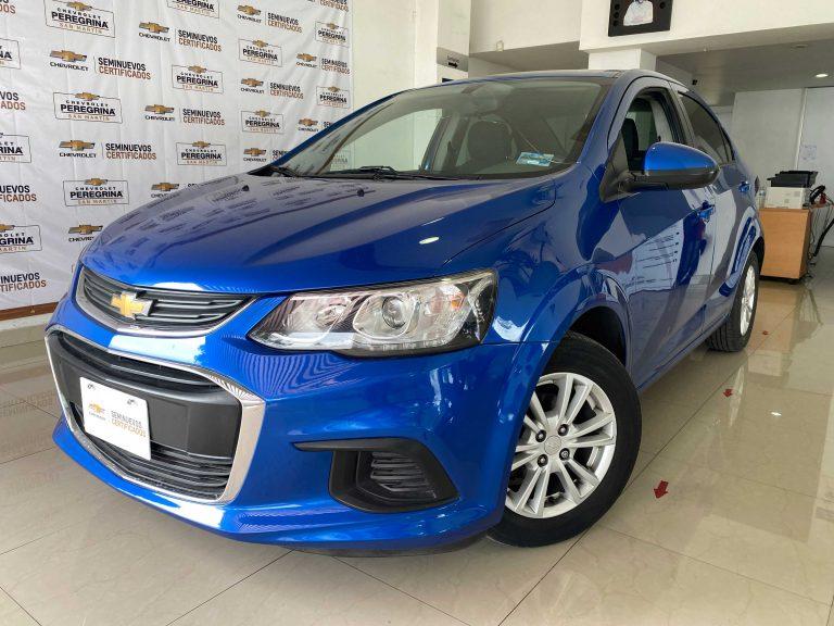 Chevrolet Sonic Paq E Color Azul Cobalto Metalico 2017 At