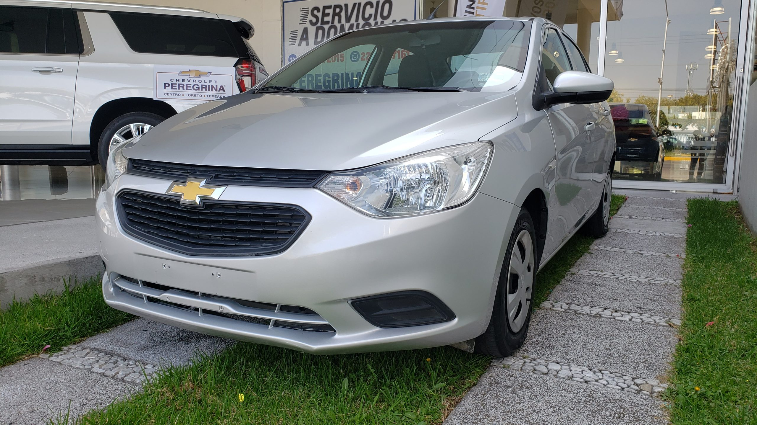 Chevrolet Aveo LS Color Plata 2020 At