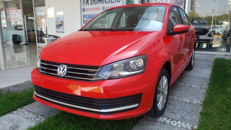 Volkswagen Vento Conforline Color Rojo 2019 Mt