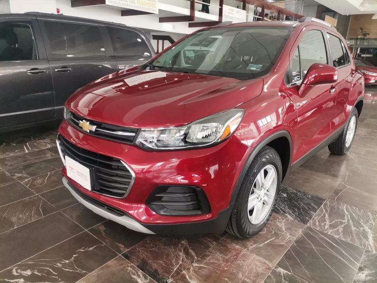 Chevrolet Trax Paq B Color Rojo Escarlata 2020 At