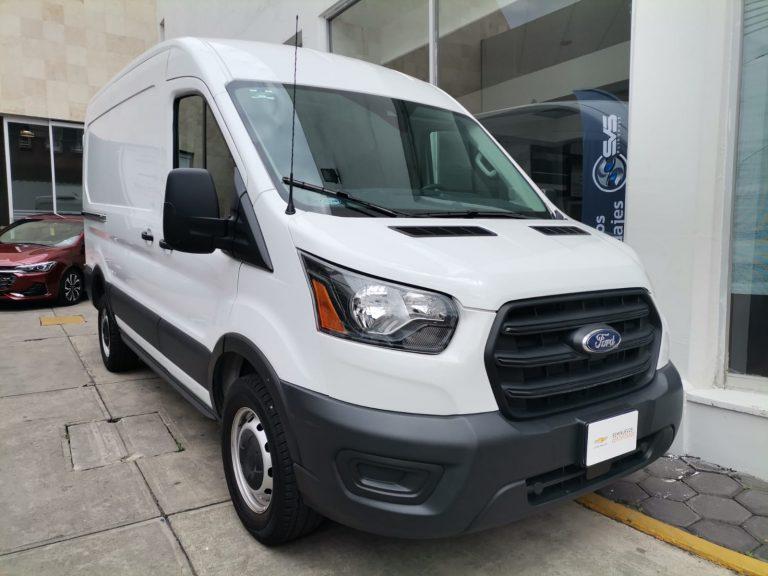Ford Transit Paq C Color Blanco 2020 Mt
