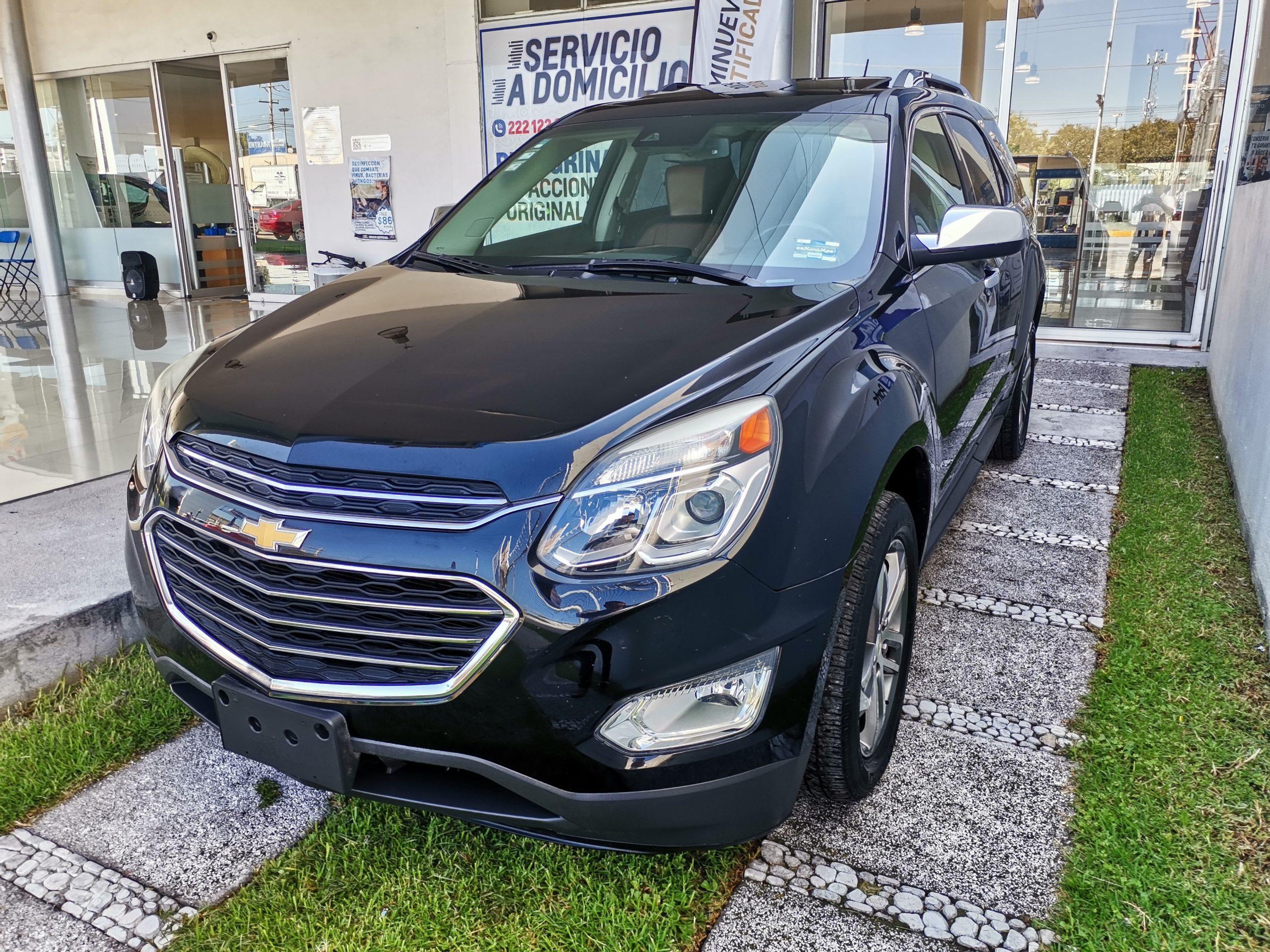 Chevrolet Equinox Premier Color Negro 2017 At